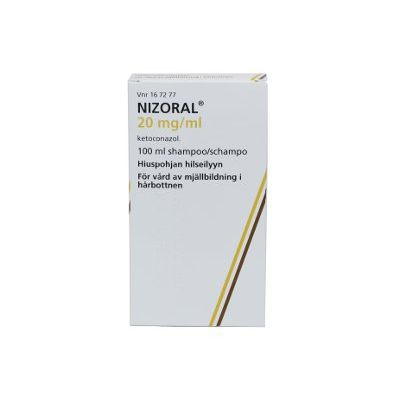 NIZORAL 20 mg/ml shampoo 100 ml
