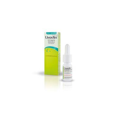 LIVOSTIN 0,5 mg/ml nenäsumute, susp 15 ml