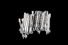 Cailap hiuspinni musta X24 kpl