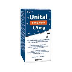 UNITAL LONG NIGHT 1,9 MG 60 TABL
