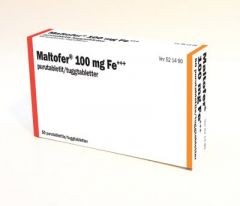 MALTOFER 100 mg purutabl 50 fol